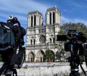 Notre-Dame esplanade to get 'ephemeral' wooden cathedral during rebuild