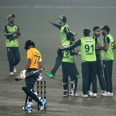 Rizwan's hundred helps Pakistan outlast South Africa