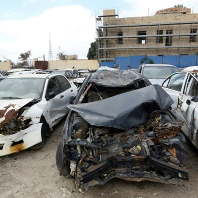 Roads deadlier than guns in Libya