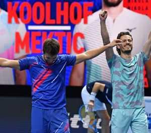 Koolhof and Mektic end debut season with ATP Finals doubles crown