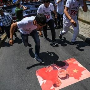 China rolls out PR push on Muslim internments