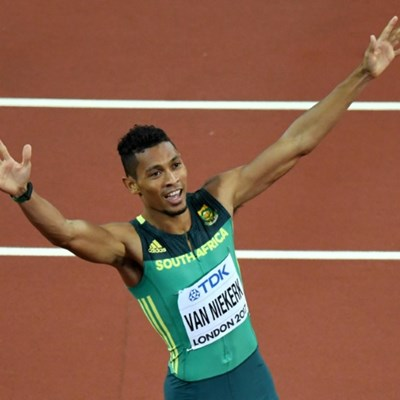 Winning return for Van Niekerk after injury lay-off