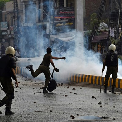 Pakistan anti-France protests disrupt Covid-19 oxygen, say officials