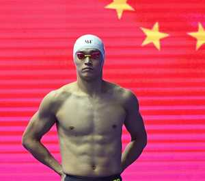 China swim coach slams 'irrational' Sun doping protests