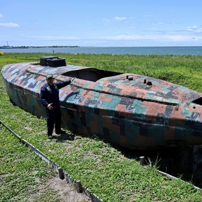 In Colombia, fleet of cartel narco-subs poses challenge for navy