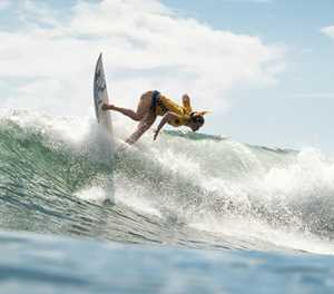 Cape fearless: Surfer rides emotional roller to Olympics