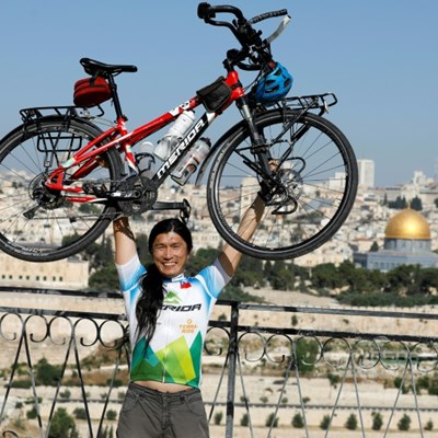 Around the world in seven years: Taiwanese cyclist's odyssey