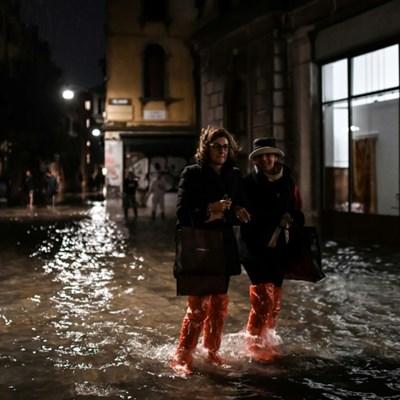 Devastation in Venice after exceptional tide