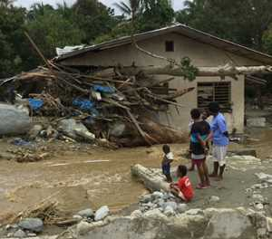 Indonesia flood death toll hits 77
