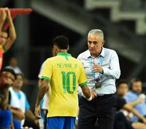 Neymar limps off as Brazil draw with Nigeria
