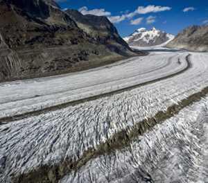 Swiss glaciers shrink 10% in five years: study