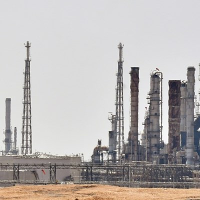 Saudi on track to partly restore oil output as market quakes