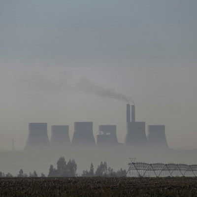 Coal dust and smog plague lives on South Africa's Highveld