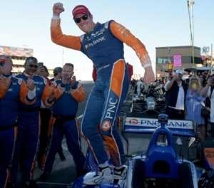 Dixon takes IndyCar crown as Hunter-Reay wins at Sonoma