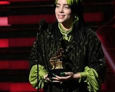 Billie Eilish sweeps top Grammy awards