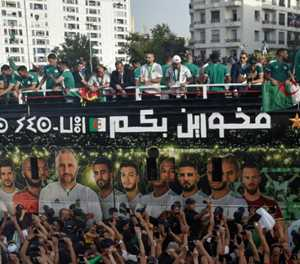 Africa Cup champs Algeria return to hero's welcome