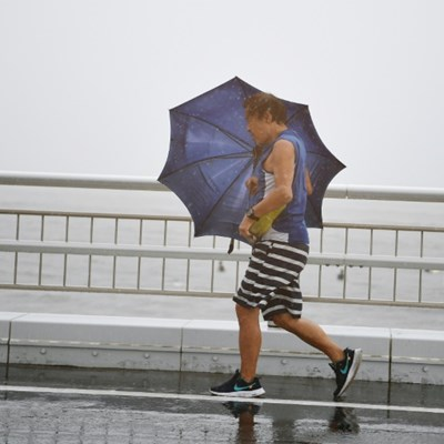 Japan braces for powerful storm at peak holiday period