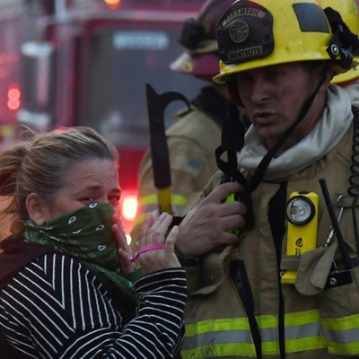Pandemic throws up additional challenges for US firefighters