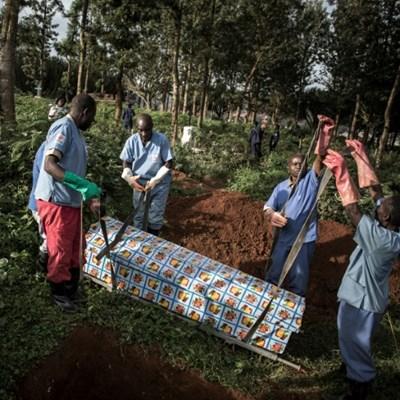 Ebola cases in DR Congo break 2,000 mark