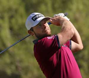 Hatton grabs early lead in PGA CJ Cup at Shadow Creek