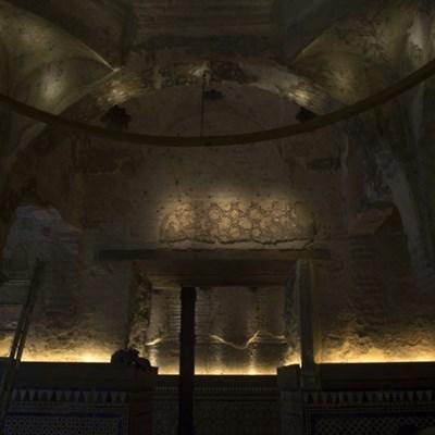 Inside a bar in Seville, a hidden 12th-century hammam is found