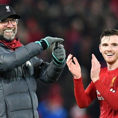 Liverpool still not interested in title talk, says Robertson