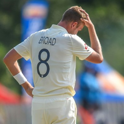 England's Broad fined after 'audible obscenity' in South Africa Test