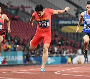 Super Su wins 100m as Africa looms large at Asian Games