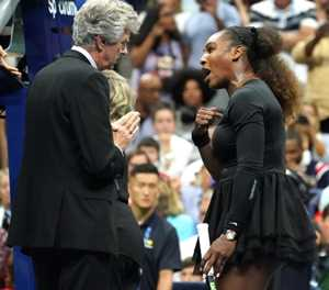US Open: Serena fined $17,000