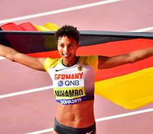World long-jump champion Mihambo to work with Carl Lewis
