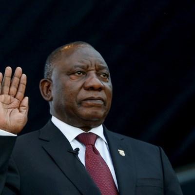 Ramaphosa sworn-in as president