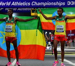 African diaspora cheer on Doha athletics championships