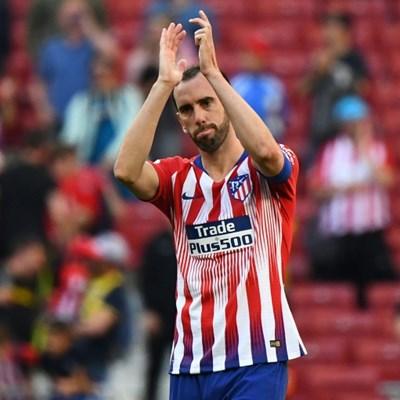 Tearful Godin confirms Atletico exit