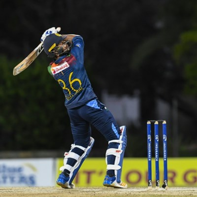 Chandimal, Bandara take Sri Lanka to modest 131-4 in Windies T20 decider