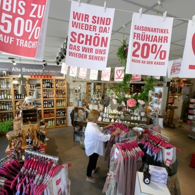Germany to reopen all shops and schools in May