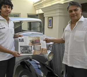 Prince Philip's car becomes Sri Lankan royal artefact
