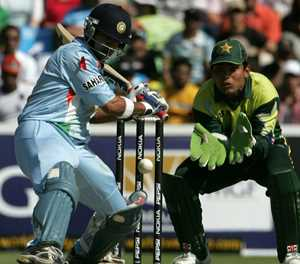 Tears, a sword and a mishit: five great India-Pakistan cricket clashes
