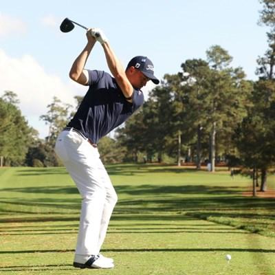 Thomas takes center stage at final PGA event of season