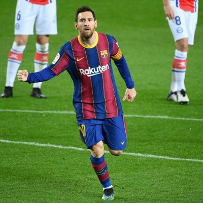 Messi 'happy' leading Barca revival but PSG a reminder of what could await