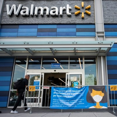 Walmart to end mask mandate for vaccinated shoppers, staff