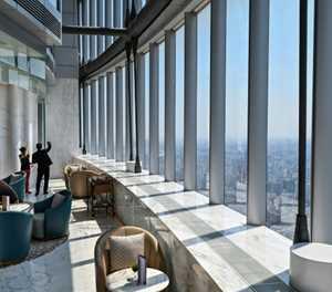 Shanghai opens world's highest hotel