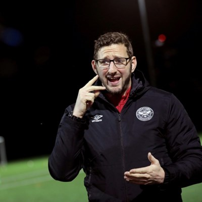 Football coach proves deafness is no hindrance to career on touchline
