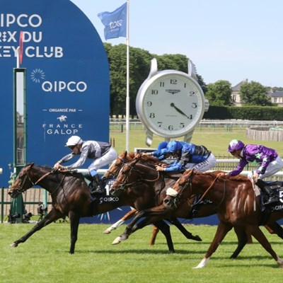 Study of Man wins French Derby