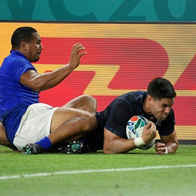 Scotland keep Rugby World Cup hopes alive with bonus-point Samoa win