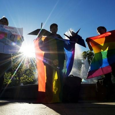 Russian LGBT activist faces porn trial for vagina drawings