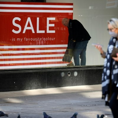 UK inflation in shock fall, soothing market fears