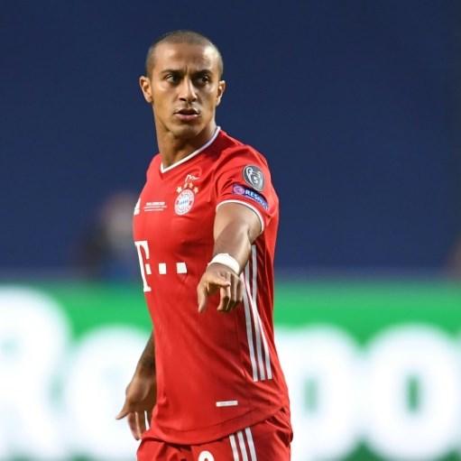 Liverpool close in on deal for Bayern's Thiago Alcantara