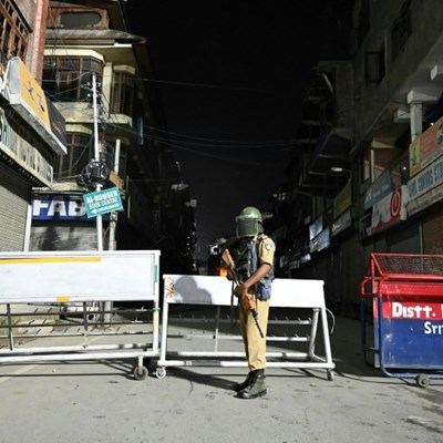 Indian cabinet meets after imposing security clampdown in Kashmir