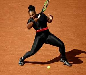 Serena attitude diffused dress code row says French Open director