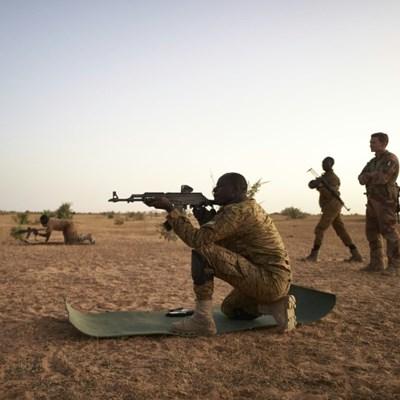 Thousands of women and children flee Burkina Faso massacre